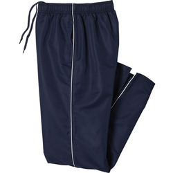 Male Blue & White Track Pant