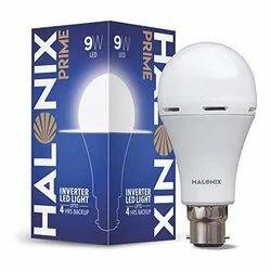 Ceramic Cool daylight Halonix 9w Inverter LED Lamp
