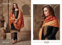 Nayaab Designer Banarasi Suit