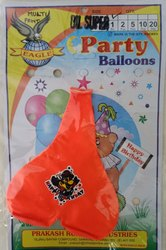 Dil Super Happy Birthday Multi Print Balloon 1 Pc