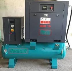 10 HP Screw Compressor