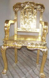 24 Carat Gold Leafing On Chair