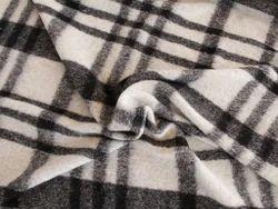 Boiled Wool Fabrics In Jacquard