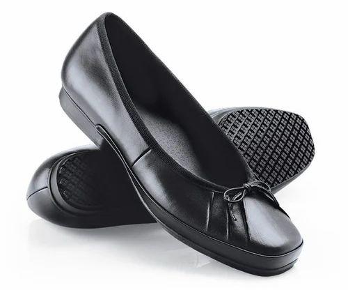 ed93f0eff2e Ladies Black Formal Shoes, Rs 900 /unit, Milan Safety | ID: 6746112462
