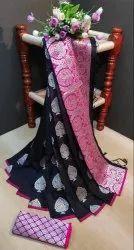 Banarasi Weaving Silk Saree