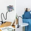 Flexible gooseneck moblie holder
