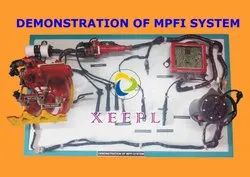 DEMONSTRATION OF MPFI SYSTEM
