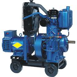 Cast Iron Single Phase Soundproof Air Cooling Diesel Generator