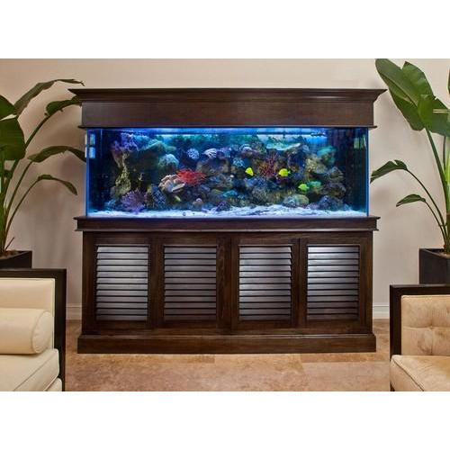 Stylish Wooden Aquarium Cabinet