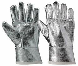 Aluminised Hand Gloves