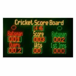 Square, Rectangle Aluminum Digital Score Board