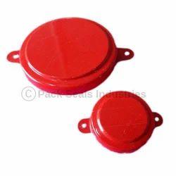 Natural/Blue/Red Metal Cap Seals