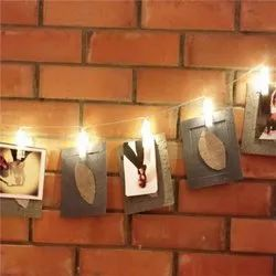 Handmade String and Clip on Lights