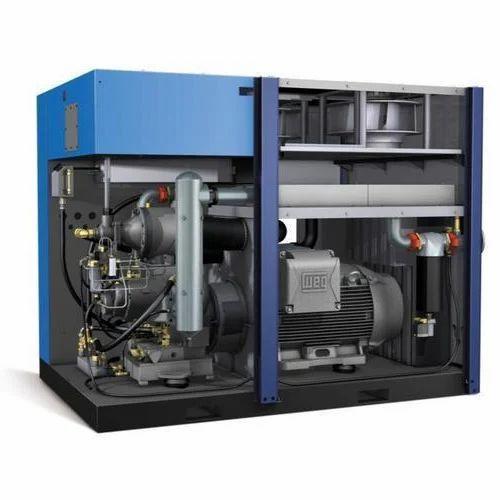 Air Compressor - Oil Less Screw Compressors Manufacturer from Karnal