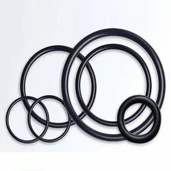 Black O Rings, Shape: Round