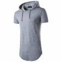 Men Hooded T Shirt