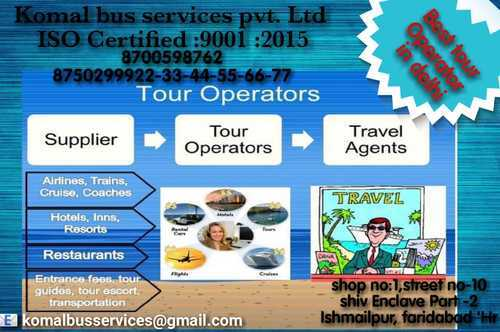 Domestic Tour Operators Services in Ismailpur Extension, Faridabad