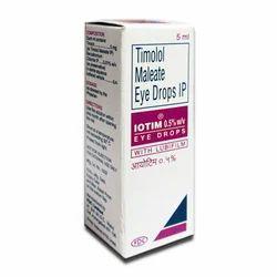 Timolol Maleate Eye Drops IP