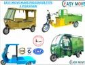 Vegetable Cart E Rickshaw