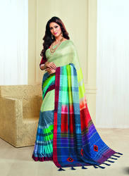 PR Fashion New Jute Silk Saree
