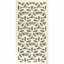 Designer Cream Polished Jali