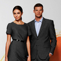 Black Cotton Organizational Uniforms, For Office, Size: Medium