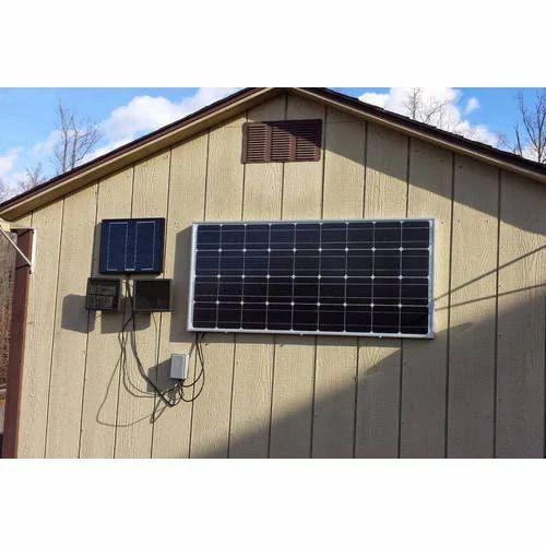100 Watt Portable Solar Power Panel at Rs 70 /watt | Compact Solar ...