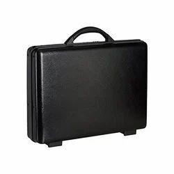 Black Plain Office Briefcase