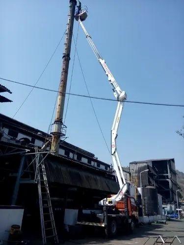 Construction Scaffolding & Man Lift Service Provider from Mumbai