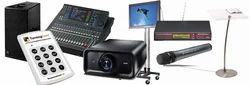 Audio Video Equipments on Rent