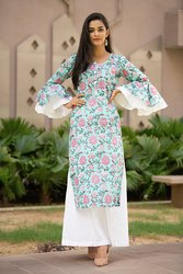 Hand Block Printed Dress Kurti