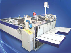 Semi Automatic Gluing Machines