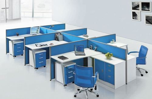 Terrific Modular Workstations Yellow Wooden Office Workstation Interior Design Ideas Apansoteloinfo