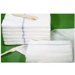 Nowofill Soft & Natural White Gauze Cotton Wadding