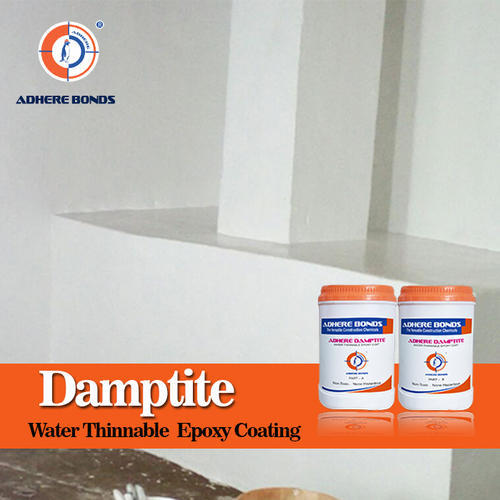 Adhere Water Borne Epoxy Coating for Damp Surface, Packing Size: 10 L