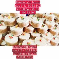 Bamboo Box Plain Gift Box