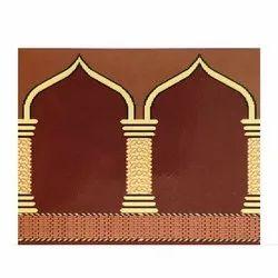 HB Red Designer Mosque Carpet
