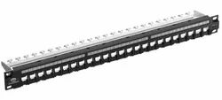 Loaded  24 Port Jack Panel