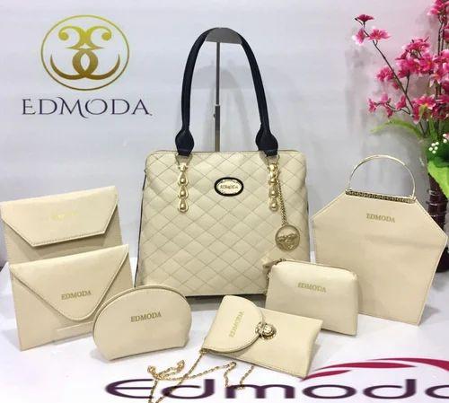 Ladies Bags - Edmoda Brown Ladies Bags Combo Pack Wholesale Sellers from  Mumbai 8027193b93030