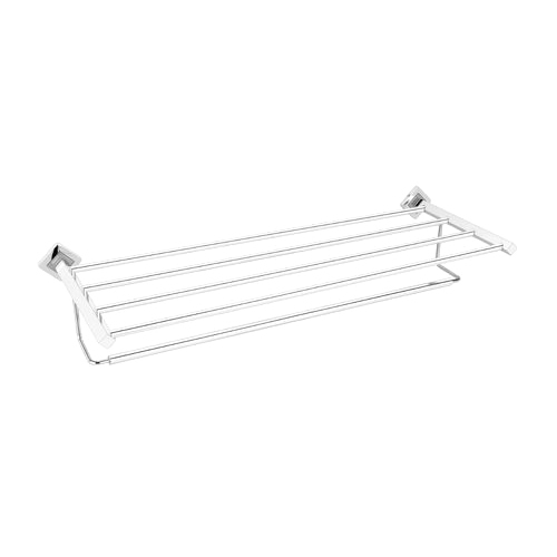 Uttam Steel SS Bath Towel Shelf Holder