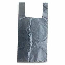 Plain U Cut LD Plastic Bag for Shopping