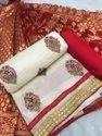 Kashmiri Work Ladies Dress Material