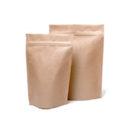 Paper pouch manufacturers suppliers wholesalers kraft paper standup zipper pouch9x13 malvernweather Choice Image