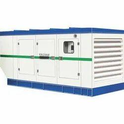 Silent Or Soundproof Diesel Kirloskar Air Cooled Generator Set for Industrial