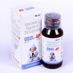 Aceclofenac 25mg & Paracetamol 125mg Oral Suspension