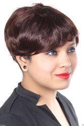 Women Bob Cut Short Wavy Human Hair