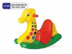 JUMBO GIRAFFE RIDE-ON