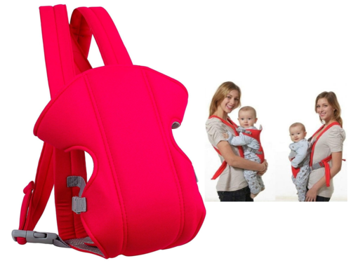 d92c6d700f9 Red Aayat Kids Superior Quality 2 In 1 Baby Carrier