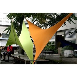 Triangle Tensile Fabric