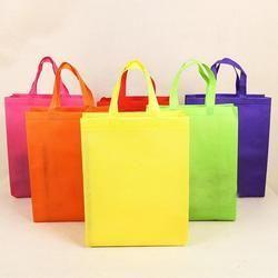 Non Woven Handle Bags Plain